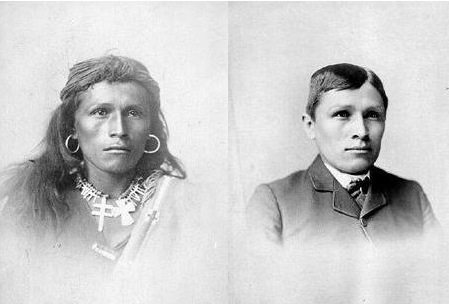 differences between native american and white settlers