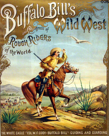 Poster of Buffalo Bill Cody's Wild West Show