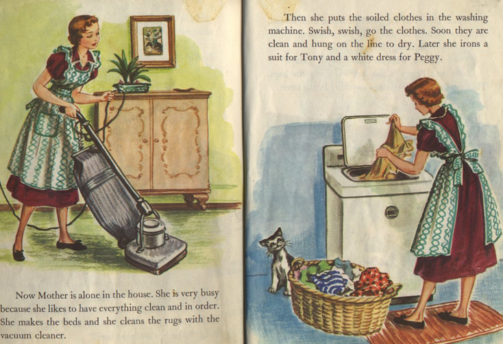 "Image from the book ""The Happy Family"""