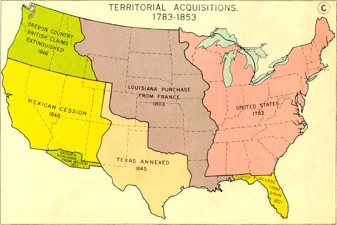 the most divisive issue of territorial expansion in american politics Lesson 3: the 1828 campaign of andrew jackson: territorial expansion and the shift of power by 1828, the united states had changed greatly, though it was still a young country instead of 13 states, there were 24, and enough territory to make quite a few more.