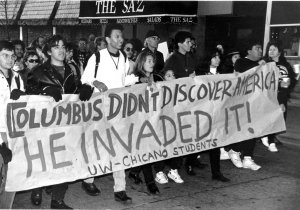 anti christopher columbus That said, in the case of the columbus monuments, we organized an   especially within the context of anti-columbus discussions — may very.