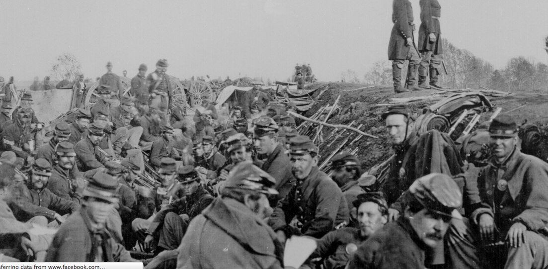 Photo of Civil War Soldiers