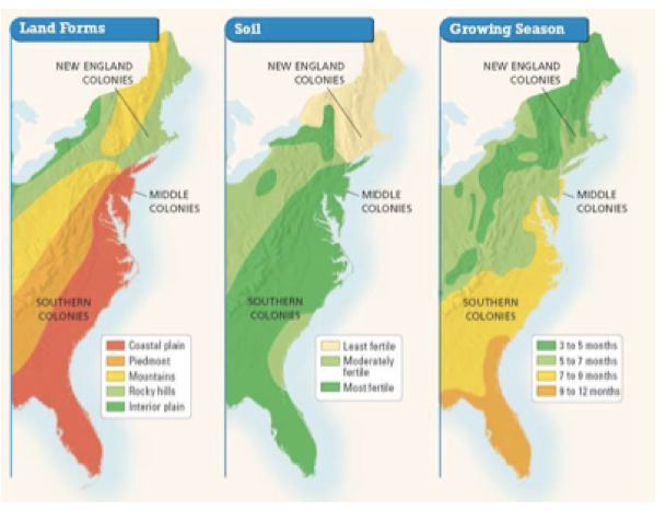 a history of the chesapeake and new england regions in the 1700 Colonial america also had regional differences among culture or historical  reason for  in contrast, the early new england colonists were primarily religious .