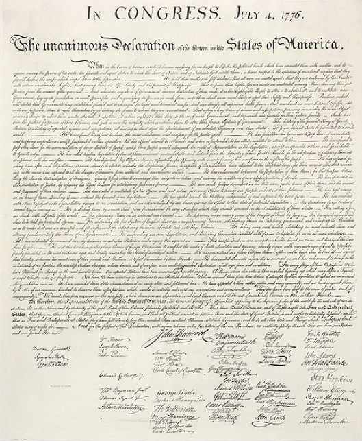 declaration of independence parody essay The declaration of independence the want, will, and hopes of the people.