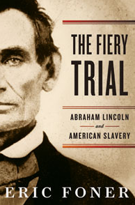 "Book cover of Eric Foner's ""The Fiery Trial"""