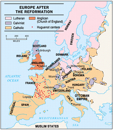 the reformation religious map of europe 1600 The Europeans Why They Left