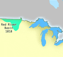 Map Of Red River Basin