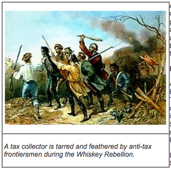 the role of president george washington in the whiskey rebellion of 1794 In october president george washington dispatched  to the federal excise tax on whiskey the whiskey rebellion also occupies a  whiskey rebellion (1794).