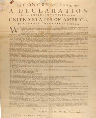 rights freedom liberty and happiness in the declaration of independence The declaration of independence states that man is endowed by his creator with certain inherent and inalienable rights, including the preservation of life, liberty and the pursuit of happiness.