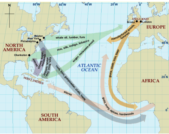 Global Trade Routes 1670s