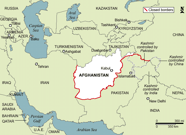 Untitled Document - Afghanistan taliban dostums massouds map
