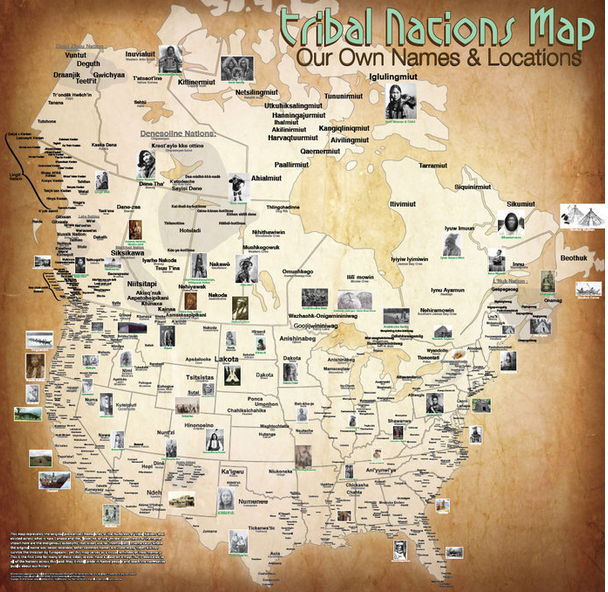introduction tribal maps with american indian names