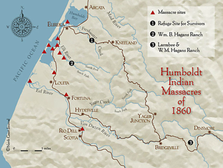 map of indian macres in humboldt county